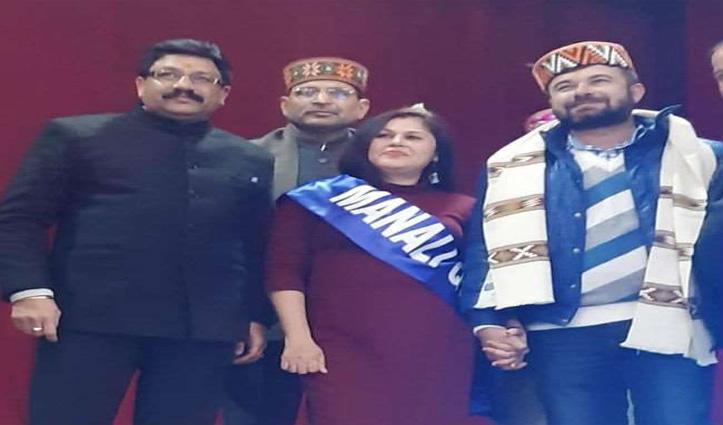 "चंडीगढ़ की सोनिका मोदी बनी ""न्यू ईयर क्वीन 2020"""