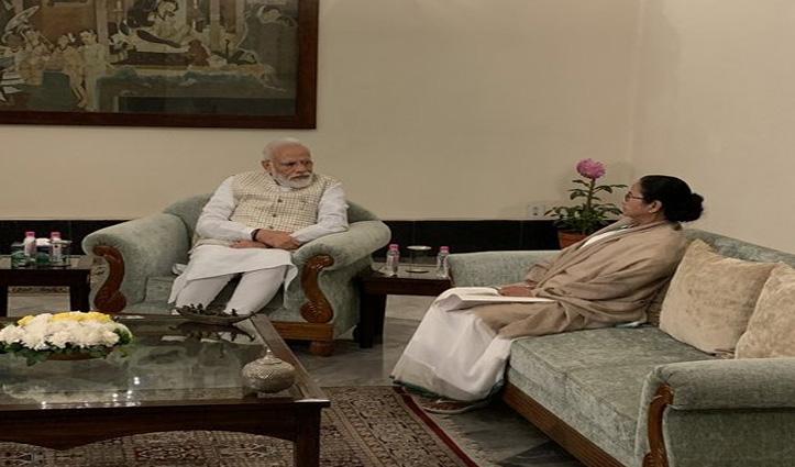 पीएम मोदी से मिलीं ममता, बोलीं- बंगाल में CAA-NRC स्वीकार नहीं