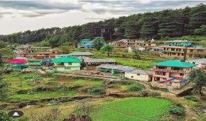 शहर के बीच बसा गांव