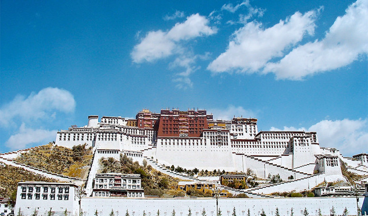Official residence of The Dalai Lama Potala Palace shut down to prevent spread of coronavirus