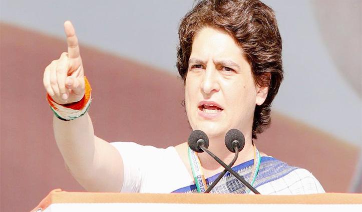 Priyanka बोलीं, सरकार ने जेब काटकर पेट पर मारी लात