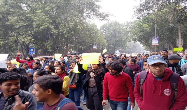 JNU हिंसा: कांग्रेस का आरोप- शाह के संरक्षण में हुई हिंसा, न्यायिक जांच हो