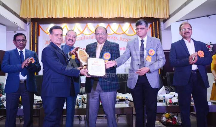नौणी विवि के वैज्ञानिक डॉ. केएस पंत रायपुर में सर्वश्रेष्ठ शिक्षक पुरस्कार से सम्मानित