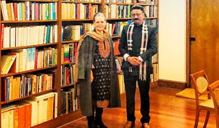 Rathore की बतौर अध्यक्ष Sonia से मुलाकात,रहना तैयार ये-ये कर आए हैं चर्चा