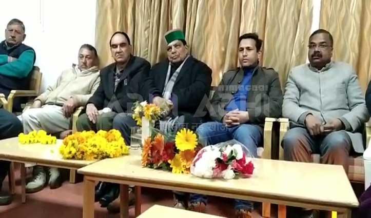 Solan कांग्रेस को मिला नया मंडलाध्यक्ष, शांडिल की चेतावनी पर भी फरमाएं गौर