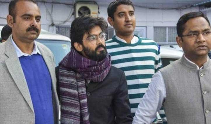 राजद्रोह के आरोपी शरजील इमाम को कोर्ट ने 5 दिनों की पुलिस रिमांड पर भेजा