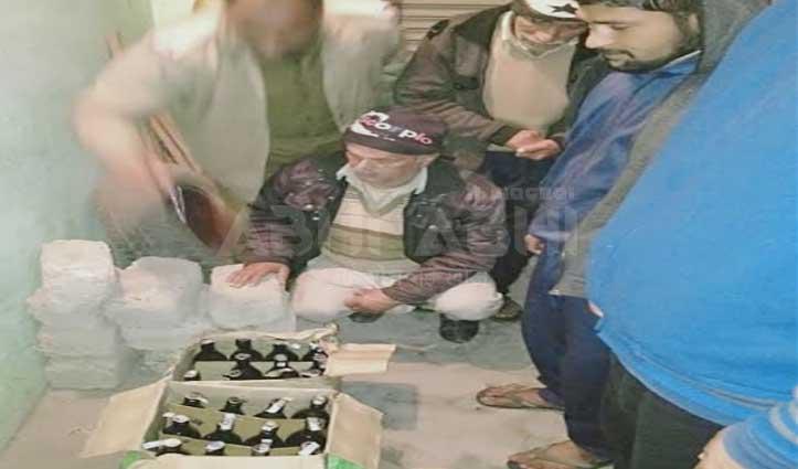पांवटा साहिब: अवैध शराब के साथ एक काबू, जांच में जुटी पुलिस