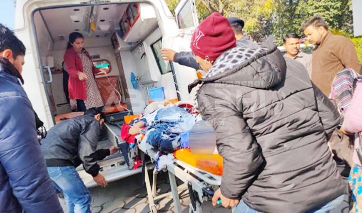 पांवटा साहिबः HRTC Bus और बाइक में हुई टक्कर, युवक की गई जान