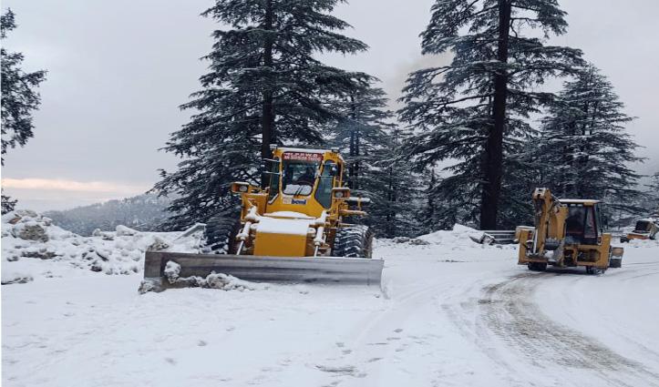 Himachal में बारिश-बर्फबारी का सिलसिला फिर शुरू, Upper Shimla के लिए आवाजाही ठप