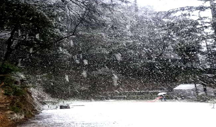 बदला मौसम: Rohtang समेत ऊंची चोटियों पर बर्फबारी, जाने अगले एक सप्ताह कैसा रहेगा मौसम