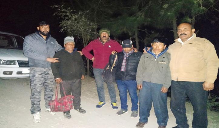 सोलन : SIU Team ने तीन किलो अफीम के साथ पकड़े तीन नेपाली