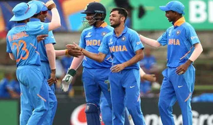 U-19 WC: जापान की टीम को 41 रन पर समेट टीम इंडिया ने 10 विकेट से जीता मैच
