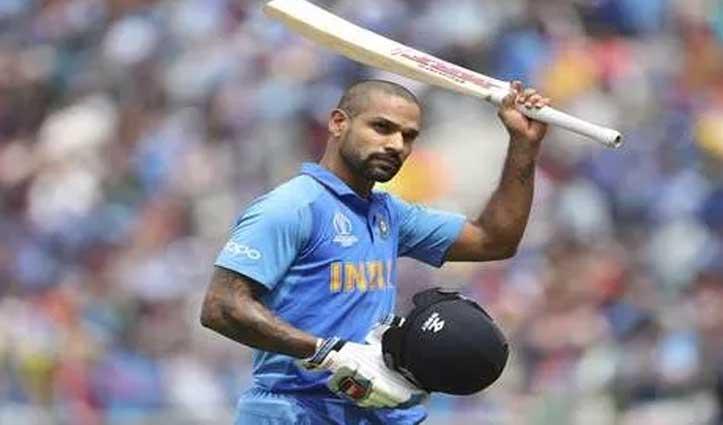 कंधे की चोट के चलते ढाई महीने के लिए अंतरराष्ट्रीय क्रिकेट से बाहर हुए शिखर धवन