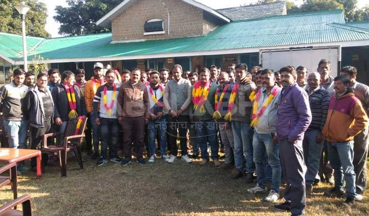सुजान सिंह बने भारतीय मजदूर संघ जवाली के प्रधान
