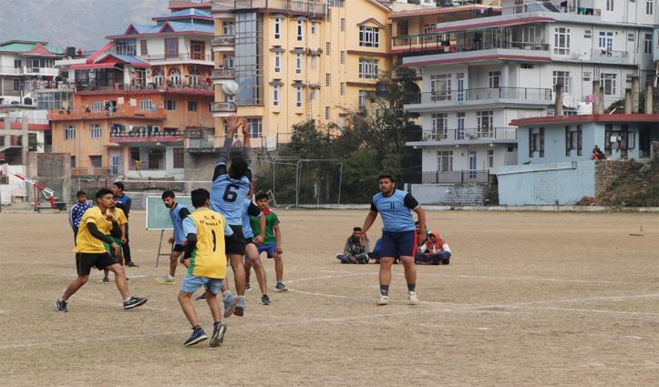 Sundernagar में राज्य स्तरीय हैंडबॉल प्रतियोगिता शुरू, पहले दिन बिलासपुर ने सोलन को हराया