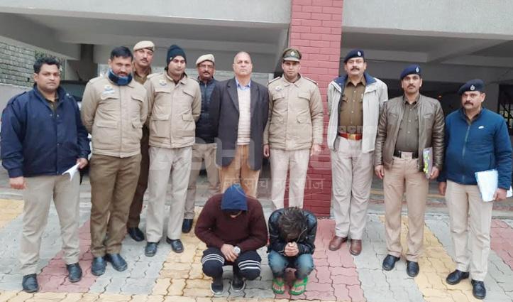 सुंदरनगर में HRTC Bus में चरस के साथ 2 धरे, Solan में चिट्टे सहित युवक गिरफ्तार
