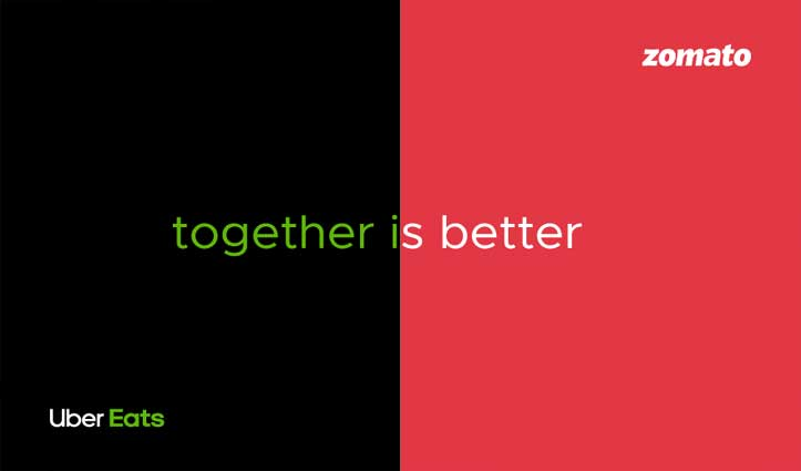 Uber Eats इंडिया खरीदकर Zomato ने कहा 'हम बाज़ार के निर्विवाद लीडर'