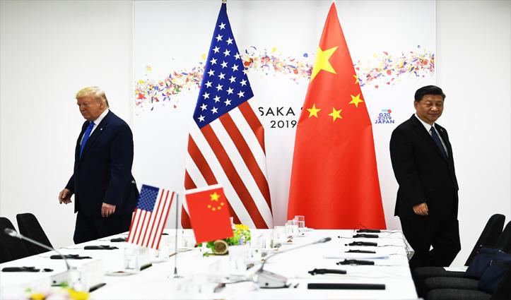 'ट्रेड वॉर' के बीच यूएस के साथ चीन का व्यापार अधिशेष घटकर रहा $296 अरब
