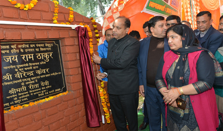 Developmental projects worth 165 crore in first phase of winter sojourn in Kangra district