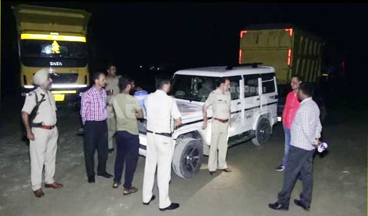 SP Una In Action: अवैध खनन में जुटे वाहनों से वसूला करीब 3 लाख जुर्माना