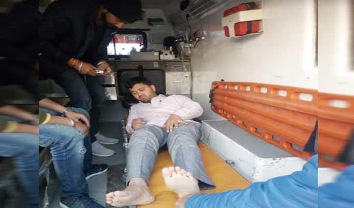 Cold Store में गैस लीक होने से मजदूरों की तबीयत बिगड़ी, Hospital में भर्ती