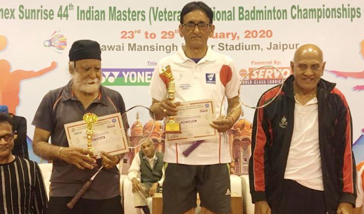 राष्ट्रीय मास्टर बैडमिंटन चैंपियनशिप में उम्रदराज खिलाड़ियों ने किया Himachal का नाम रोशन