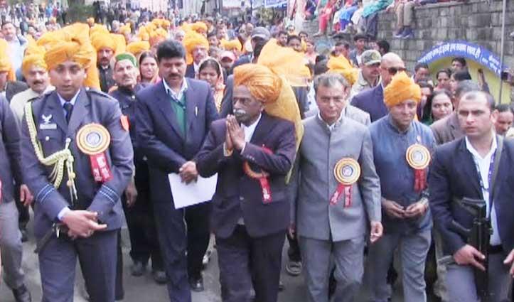 अंतरराष्ट्रीय शिवरात्रि महोत्सव संपन्न, Bandaru Dattatreya ने लिया शोभायात्रा में भाग