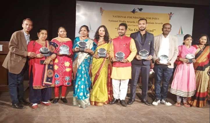 बिलासपुर की एकल नारी का दिल्ली में सम्मान, मिला भारत रत्न सी सुब्रह्मण्यम पुरस्कार