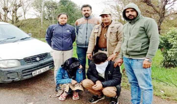 Bilaspur में चिट्टे संग दंपत्ति गिरफ्तार, पांवटा में ढाबे पर मिली अवैध शराब
