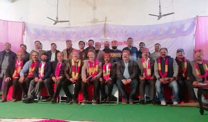 बिलासपुर के राजीव शर्मा को PWD जूनियर इंजीनियर एसोसिएशन की कमान