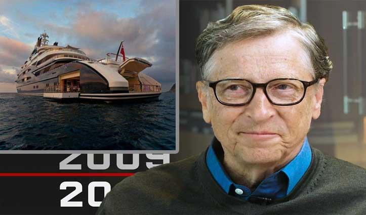 बिल गेट्स ने 4600 करोड़ में खरीदा हाइड्रोजन से चलने वाला Eco-friendly सुपरयॉट