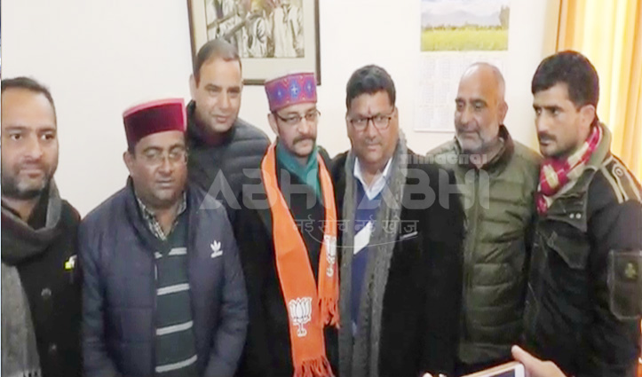 कांग्रेस को झटका, हमीरपुर सेवादल प्रमुख ने ज्वाइन की BJP, यह बताई वजह