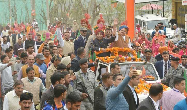 Nadda को घर पहुंचाने Jai Ram हेलिकॉप्टर लेकर साथ आए बिलासपुर