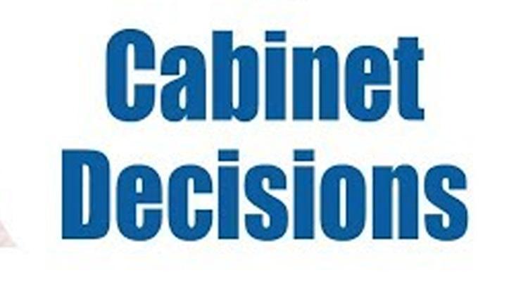 Cabinet: शहीदों की प्रतिमाएं स्थापित करने को धन वितरण पर नहीं हुआ फैसला