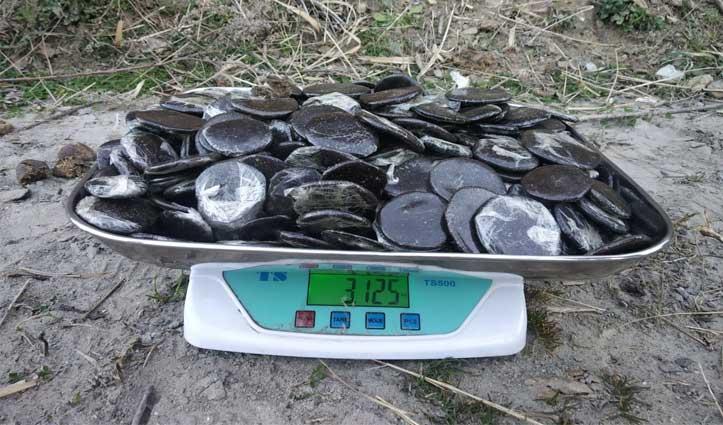 kullu Police ने राउगी निवासी से पकड़ी 3 किलो Charas