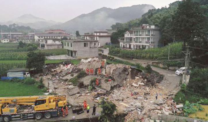 Corona virus की मार झेल रहे China में भूकंप के झटके, 150 राहतकर्मी जुटे