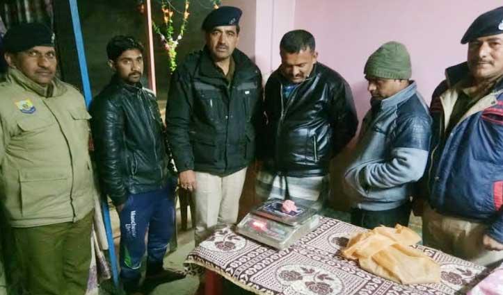 Police ने दी ढाबे में दबिश, Charas व भांग दाना के साथ पकड़ा ठियोग निवासी