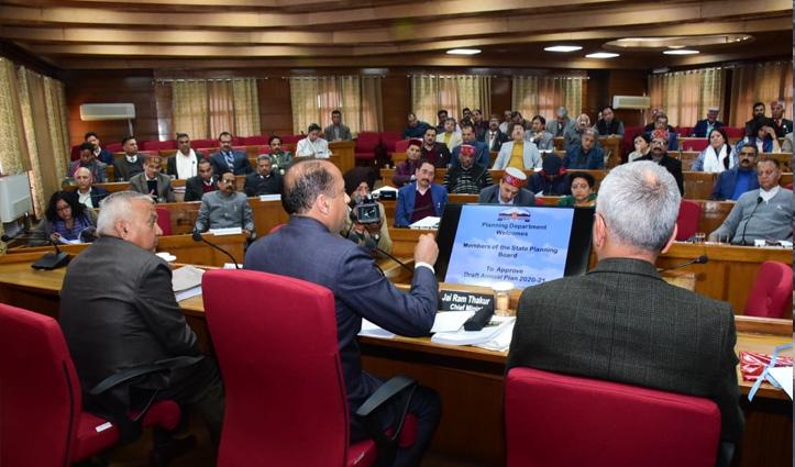 Himachal: योजना बोर्ड ने 7900 करोड़ की वार्षिक योजना को मंजूरी दी