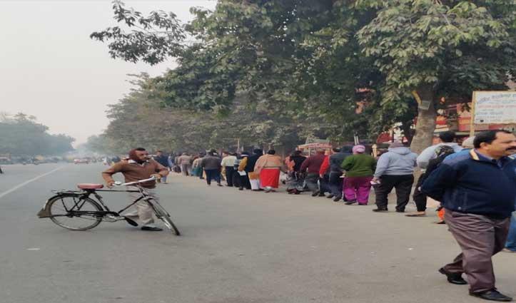 Delhi Elections: 5 बजे तक हुआ 44.52 फीसदी मतदान, AAP और BJP समर्थकों में भिड़ंत