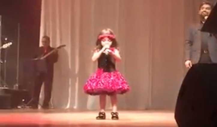 3 साल की बच्ची ने गाया 'दिल है छोटा सा', मन को भा जाएगा ये वीडियो