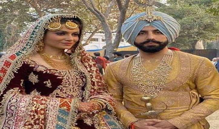 गुरदास मान के बेटे ने पूर्व Miss India से की शादी, देखें तस्वीरें