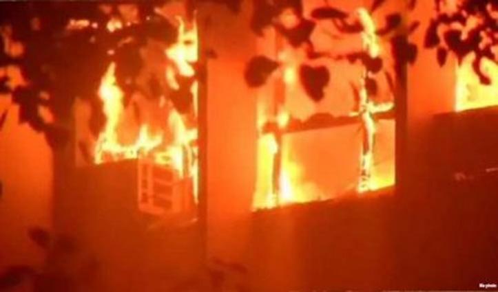 Breaking : भीषण आग की चपेट में आने से तीन बच्चों व चार महिलाओं की मौत