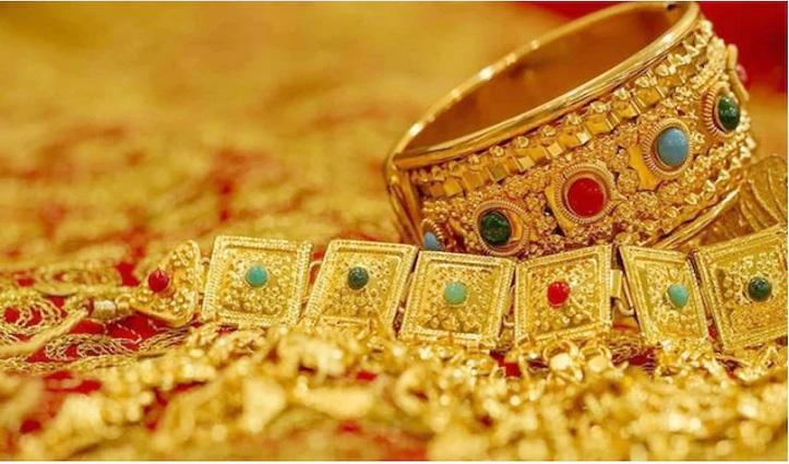 #Dhanteras से पहले सोने व चांदी की कीमतों में आई गिरावट, क्या है 10 ग्राम Gold का ताजा भाव