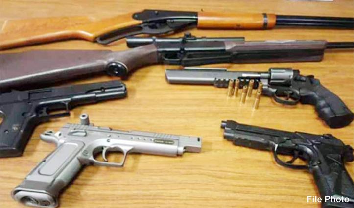 अब कोई भी व्यक्ति दो ही शस्त्र रख सकेगा, तीसरा जमा करवाना होगा, वरना