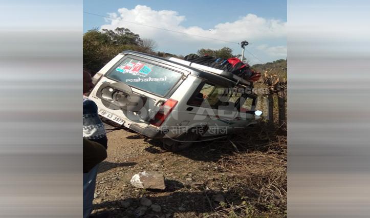 Kasauli में स्कूली बच्चों से भरी गाड़ी लुढ़की, 14 बच्चे थे सवार