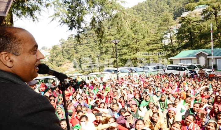 Asha Worker के मानदेय बढ़ोतरी को लेकर क्या बोले जयराम- जानिए