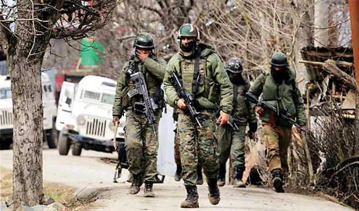 Naushera Sector में घुसपैठ की कोशिश कर रहे थे आतंकी, सुरक्षाबलों ने तीन किए ढेर