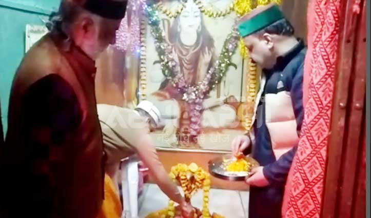 छोटी काशी के प्राचीन एकादश रूद्र मंदिर में शुरु हुआ ओम नमः शिवाय का अखंड जाप