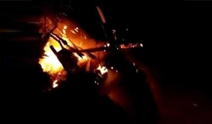 आनी: निरमंड में जंगल में लगी आग ने जला डाला आशियाना