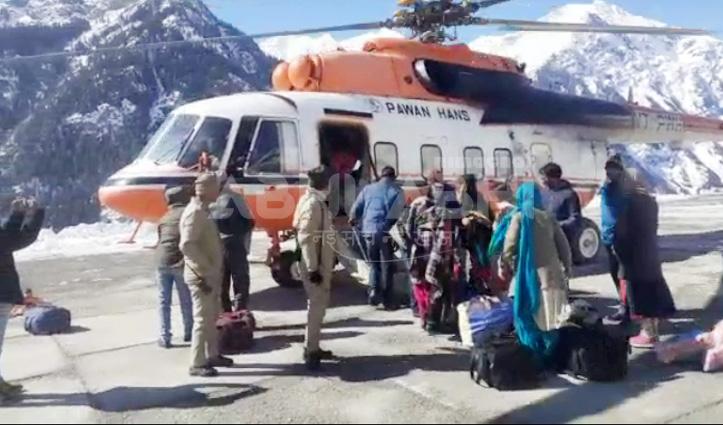 राहतः पांच उड़ानों में 111 लोगों ने किया सफर, कल होंगी तीन उड़ानें